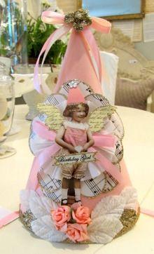 Paper Cone Birthday Hat