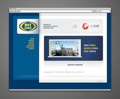 Webdesign e desenvolvimento do site para a empresa NVT Logs (2012). www.nvtlogs.com.br