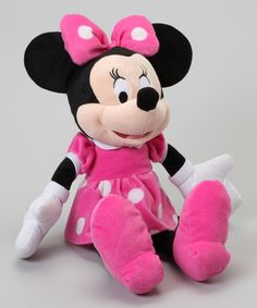 Look at this 18'' Minnie Plush Toy on #zulily today!