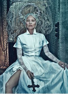 Kate Moss photographed by Steven Klein for W Magazine