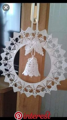 Best 12 Christmas decorations – Page 65935582030479209 – SkillOfKing.Com Best 12 Christmas decorations – Page 65935582030479209 – SkillOfKing. Crochet Christmas Wreath, Crochet Christmas Decorations, Christmas Crochet Patterns, Crochet Ornaments, Holiday Crochet, Crochet Snowflakes, Christmas Bells, Christmas Wreaths, Christmas Crafts