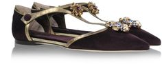 Dolce & Gabbana Ballerinas on shopstyle.com