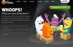 Having a good Error 404 page will allow you to direct them back to your home page. Most websites have simple 404 pages that try to get visitors back on their Page 404, 404 Pages, Web History, Error Page, Web Design Inspiration, Cool Websites, Page Design, Packaging Design, Make It Yourself