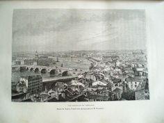 Vue générale de Toulouse, dessin de Taylor, d'après une photographie de M. Neurdein