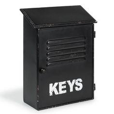 Boîte à clés noire Keys
