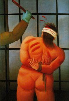 Botero's Abu Ghraib Paintings at Berkeley