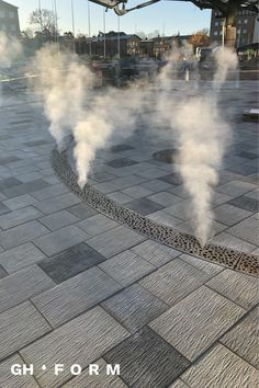 GH Form Drops waterdrain produced with recycled materials in Denmark drawn with danish Architect Henrik Jørgensen Denmark, Sustainability, Recycling, Aqua, Sidewalk, Louvre, Drop, Urban, Recycled Materials