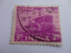 3ps India Postage Stamp