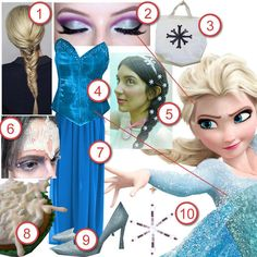 Elsa from Frozen · DIY The Look · Cut Out + Keep Craft Blog