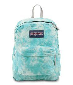 Jansport High Stakes Blue Wash Lighting. Jansport Special Edition Superbreak FX Blue Lightning Washed Canvas Denim Backpack.