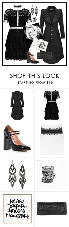 """""""Rock Stars"""" by susan0219 ❤ liked on Polyvore featuring River Island, Rochas, Aqua, 2028 and DENY Designs"""