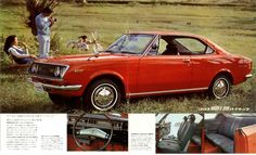 TOYOPET CORONA MARKⅡ Japanese Cars, Vintage Japanese, Toyota Corona, Toyota Cars, Car Pictures, Old Cars, Vintage Posters, Cars Motorcycles, Muscle Cars