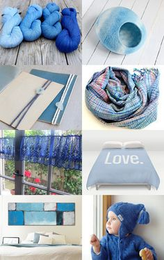 BLUE Love by Chiara Cantamessa on Etsy--Pinned with TreasuryPin.com