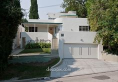 beautiful Art Deco house