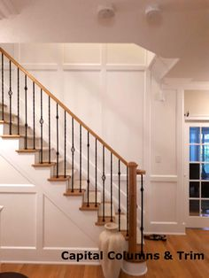 Force Movie, Wainscoting, Stairs, Walls, Home Decor, Wood Cladding, Stairway, Decoration Home, Panelling