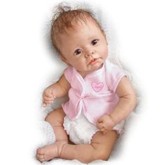 Linda Murray Little Angel So Truly Real Lifelike Baby Doll 16 by Ashton Drak #AshtonDrake