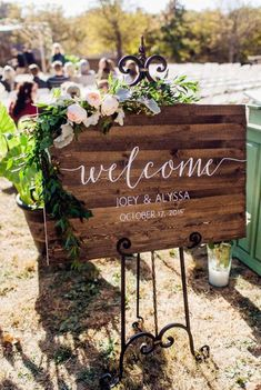chic-rustic-wooden-welcome-sign.jpg (600×895)