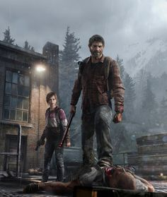 Last Of Us- This game has one of the best graphics I have ever seen. The last of us has very powerful nature scenes too! PLAY THE GAME! Game Character, Character Design, Zombies, Joel And Ellie, The Last Of Us, Mundo Dos Games, Edge Of The Universe, Arte Nerd, Post Apocalypse