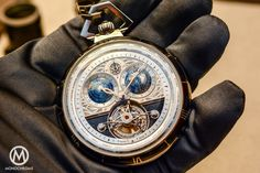 Introducing the Montblanc Collection Villeret Tourbillon Cylindrique Pocket Watch 110 Years Edition
