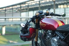 Metric Masterpiece - Virago VX750 Cafe Racer ~ Return of the Cafe Racers