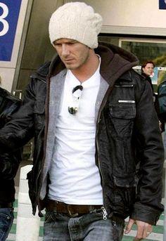 Superdry Brad Leather Jacket - as seen on David Beckham