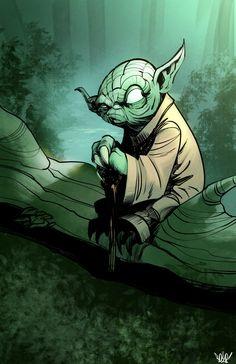Yoda by Bob Q
