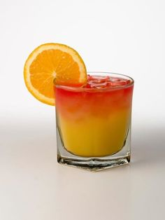 Whipped Sunset  1 part Pinnacle Orange Whipped  1 part Pineapple Juice  1 part Orange Juice  Splash Grenadine  Shake Pinnacle Orange Whipped, Pineapple Juice and Orange Juice with ice and strain into a shot glass. Top with grenadine and garnish with an orange slice chilloutgyrl