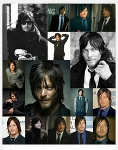 The many faces of Daryl,,uh, I mean Norman ❤