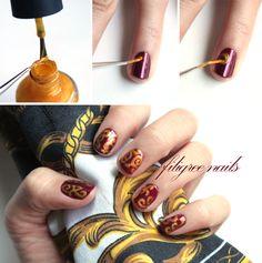 Filigree Nails with Syl & Sam #ManicureMonday