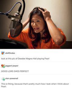 Deedee mango hall pearl voice actor