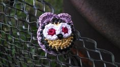 Purple Owl Pin by MaBsBoutique on Etsy, $7.50