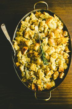 Just pit this together for tomorrow's Thanksgiving dinner. Essential Thanksgiving Recipe: Classic Sage & Onion Bread Dressing (Stuffing) — Recipes from The Kitchn Sage And Onion Stuffing, Homemade Stuffing, Recipe For Sage Stuffing, Turkey Recipes, Apple Stuffing, Turkey Stuffing, Thanksgiving Recipes, Holiday Recipes, Thanksgiving