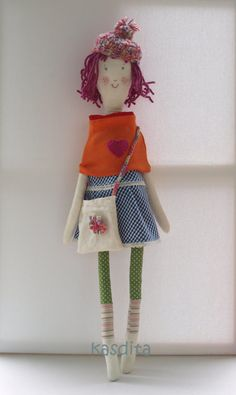 Items similar to Rag doll- Raspberry- Aquarius girl on Etsy Aquarius, Her Hair, Raspberry, Dolls, Christmas Ornaments, Holiday Decor, Gifts, Etsy, Goldfish Bowl