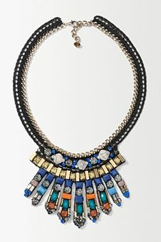 Bejewelled Spray Necklace | Anthropologie.eu