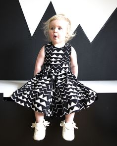 Sometimes all you need is a little black and white.  #estella #kids #fashion La Petite Mag