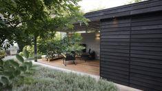 Tuinontwerp met luxe tuinpaviljoen