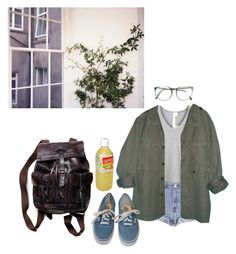 """""""morning // craving adventures"""" by flixls ❤ liked on Polyvore featuring Wilt, Free People, Levi's, Vans, sOUP, grunge and 90s"""
