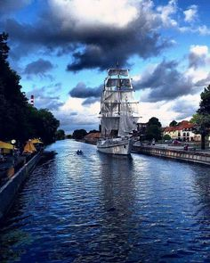 Klaipėda, Lithuania Treated my (newly married) husband on this very boat in Sept., 2016