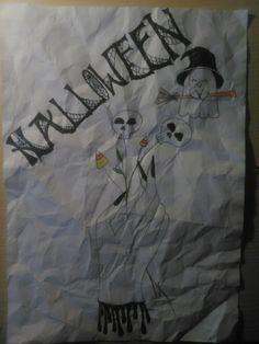 My Halloween artwork♥