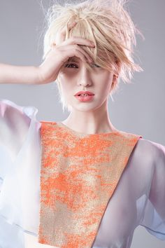Orange Attitude, discover our ss15 collection on www.martacucciniello.com/collectionss15