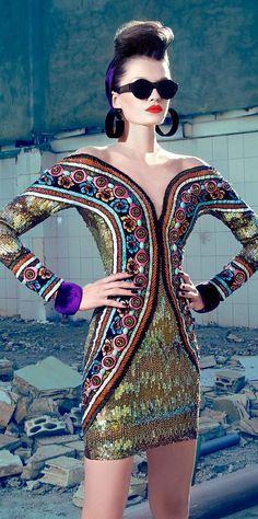 Nicolas Jebran Couture F/W 2013 at KG Street Style