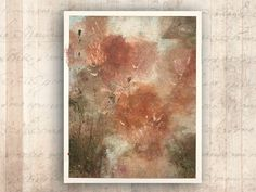 Impressionist Painting of A Bouquet