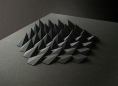Geometric Paper Art, Matthew Shlian