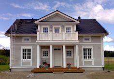 Rappuralli: Ideakuvia talon ulkokuorelle