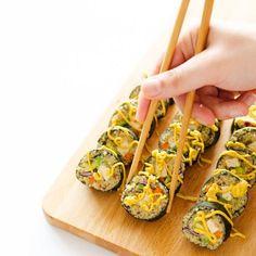 Coconut Tempura Tofu Sushi | foodgawker » Vegan