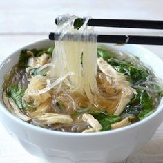 Easy Chicken Pho by soufflebombay: Bursting with flavor and easier to make than you think. #Pho