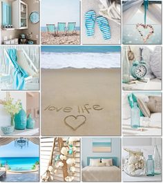 moodboard beach by AT