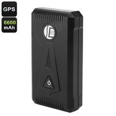 Vehicle GPS Tracking Device - Real-Time Tracking, Speed Alarm, Geofence, SOS Alarm, 3 Month Battery Life, Weatherproof - This big battery GPS Tracking Device helps you to be constantly up to date about the current location of your vehicle or cargo container.
