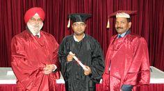 Dr. Saurabh Singh receiving certificate of Endoscopy at World Laparoscopy Hospital. For more detail please log on to www.laparoscopyhospital.com