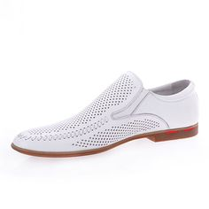 modern mens wedding shoes in white and dots #21